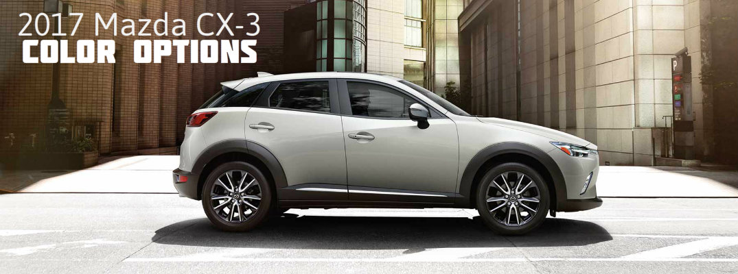 Ingram Park Mazda >> 2017 Mazda CX-3 color options